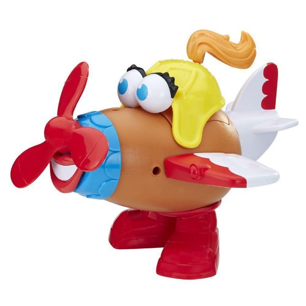 Mr. Potato Head Nas Alturas Mrs. Potato Avião - Hasbro