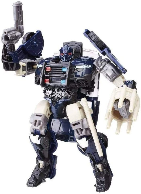 Boneco Transformers Barricade Decepticon Premier Edition - Hasbro