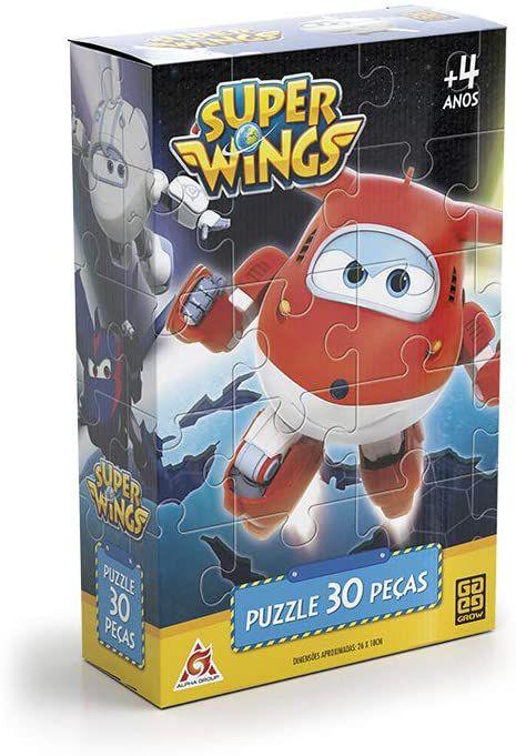 Quebra-Cabeça 30 Peças Super Wings - Grow