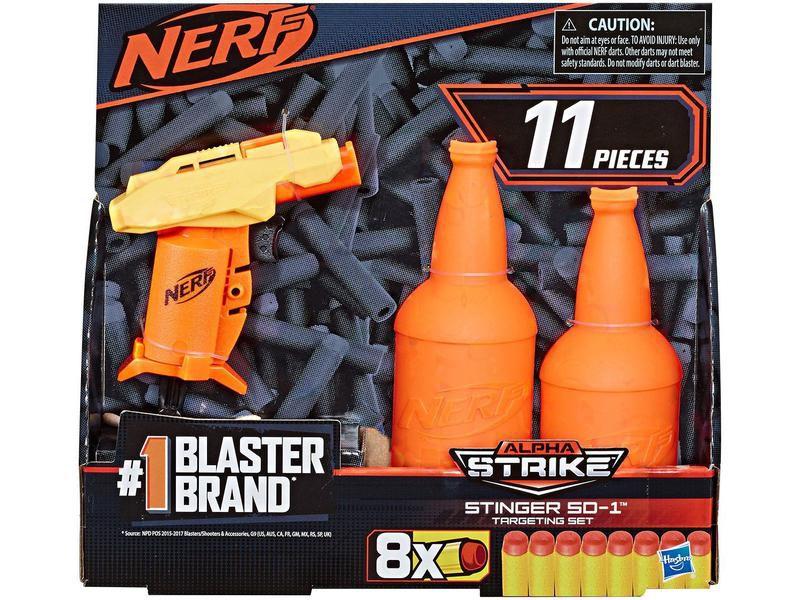 Nerf Alpha Strike Stinger com Target - Hasbro
