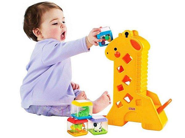 Girafa Peek-a-Blocks - Fisher-Price