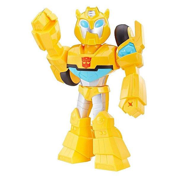 Boneco Bumblebee  Playskool Transformers Mega Mighties - Hasbro