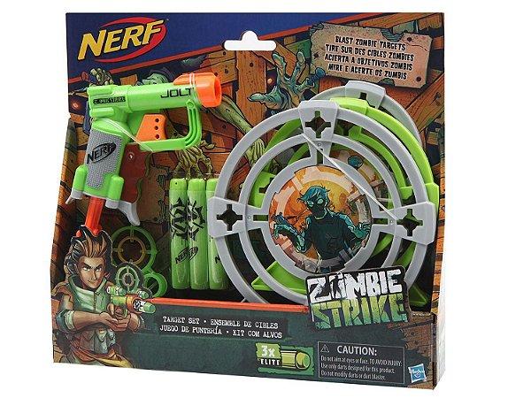 Lançador de Dardos com Alvo Nerf Zombie Strike - Hasbro