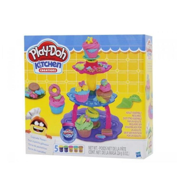 Massinha Play-Doh Torre de Cupcakes - Hasbro