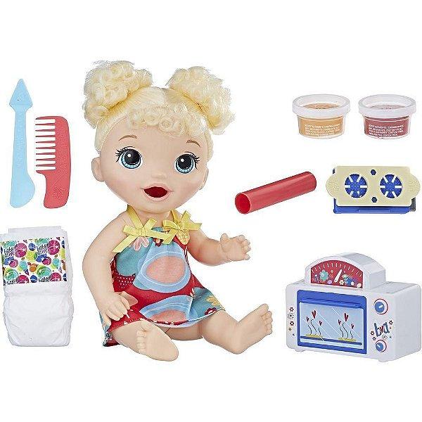 Boneca Baby Alive Meu Forninho Loira - Hasbro