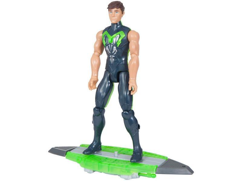 Boneco Max Steel Lançador Aquático - Mattel