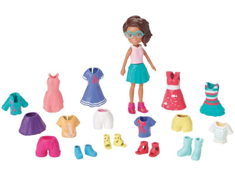 Boneca Polly Pocket Pronta Para Festa Estelar - Mattel