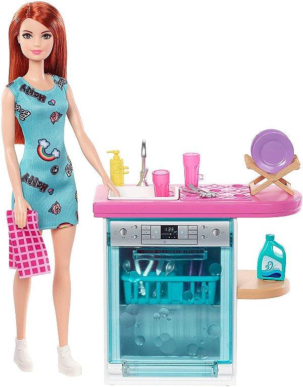 Móveis da Barbie Real Lava-Louça - Mattel
