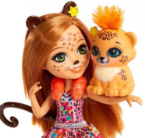 Boneca Enchantimals Bichinho Cherish Cheetah & Quick-Quick - Mattel