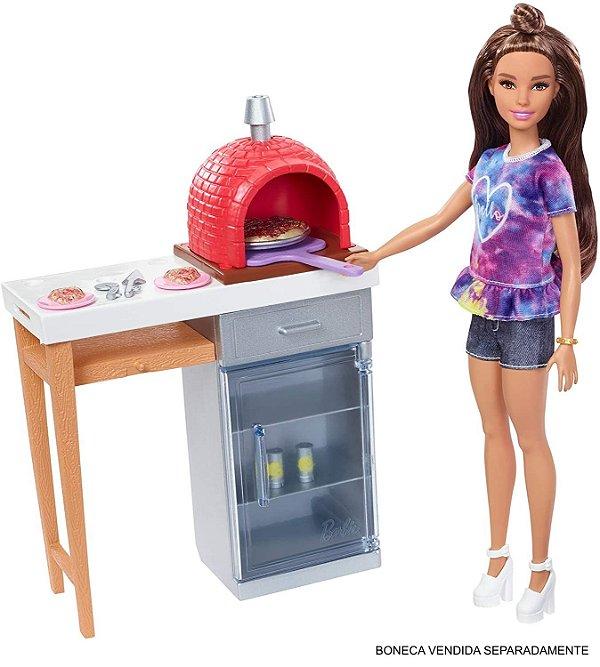 Móveis da Barbie Real Forno De Pizza - Mattel