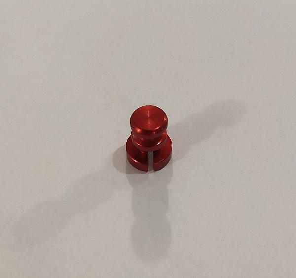 Pino de Alumínio Anti Vácuo Vermelho