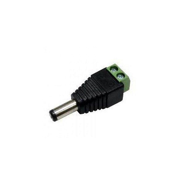 Conector Macho Para Fita de Led 12V