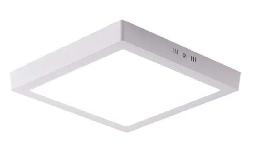 Painel LED Sobrepor quadrado 24W