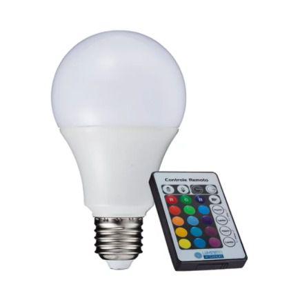 Lâmpada LED BULBO A60 3W RGB G-LIGHT