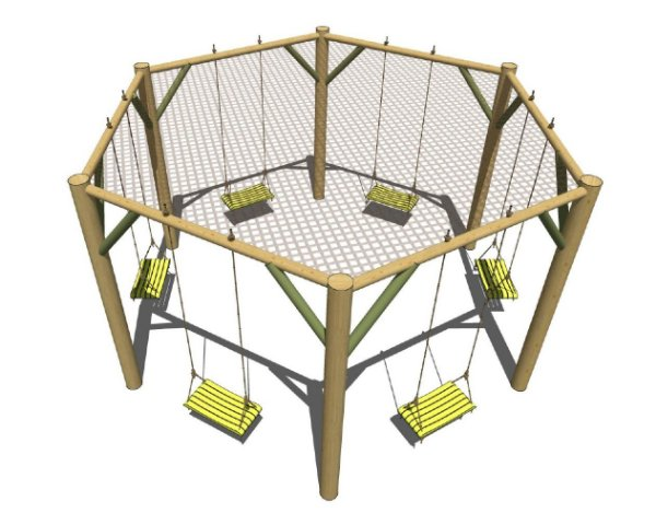 Balanço Hexagonal