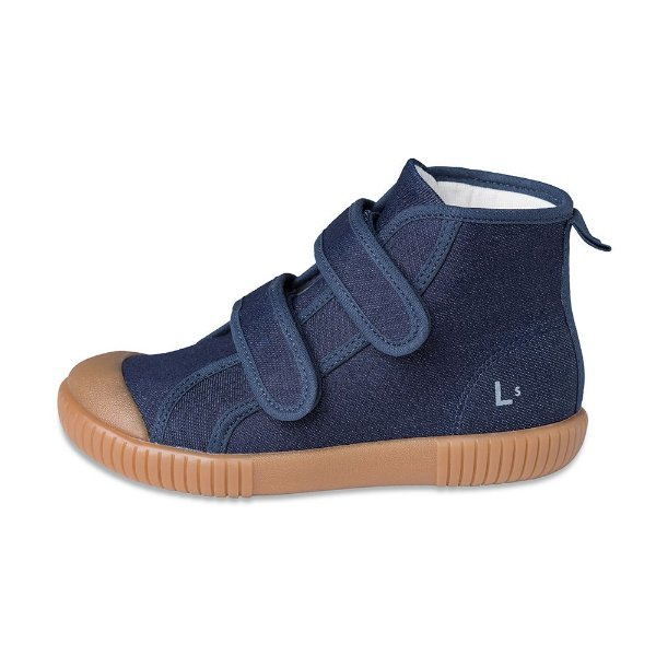Tênis Cano Alto Luca Jeans Oceano + Craft