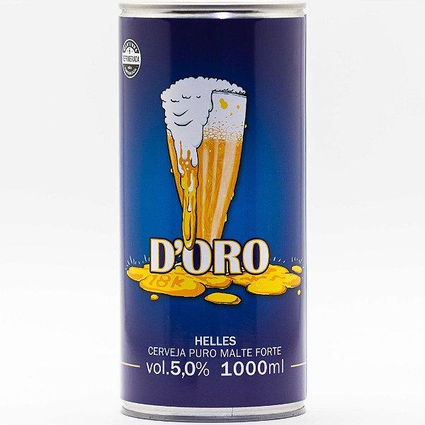D'Oro Helles Crowler 01 ltr