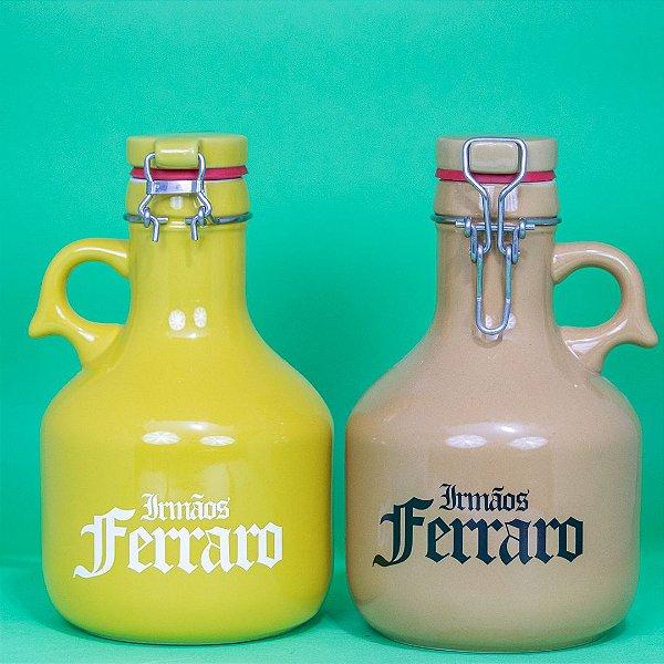 Growlers Cerâmica Amarelo 01 litro (unidade)