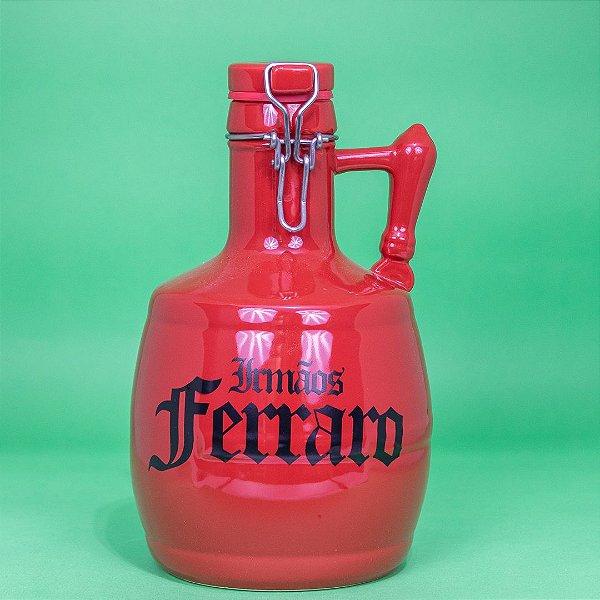 Growler Cerâmica Vermelho -  02 litros
