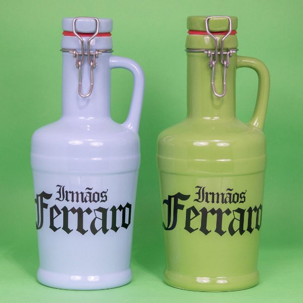 Growlers Cerâmica Verde 01 litro (unidade)