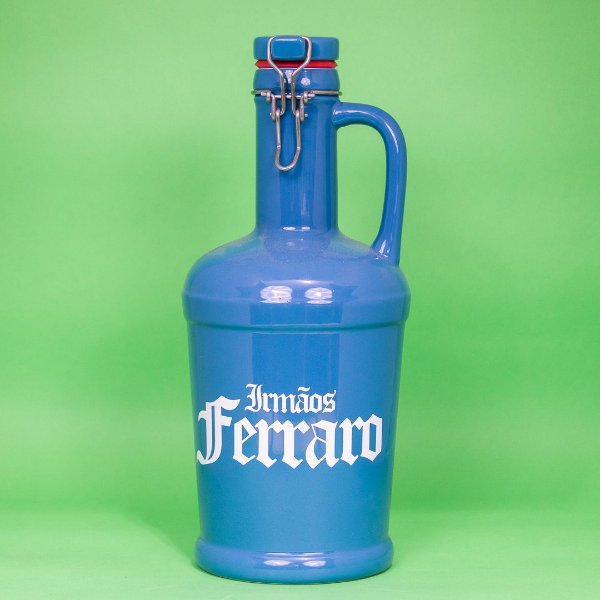 Growler Cerâmica Azul Royal  -  02 litros