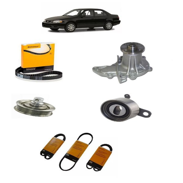 Kit Correia Toyota Corolla 1.6 16v 93 94 95 96 97 98 99