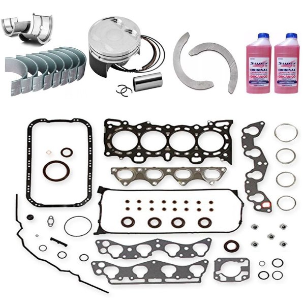 Kit Retifica Motor Hyundai Accent 1.5 16v 99 2000 2001 G4ec
