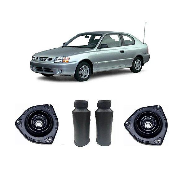 Kit Amortecedor Dianteiro Completo Hyundai Accent 1.5 12v