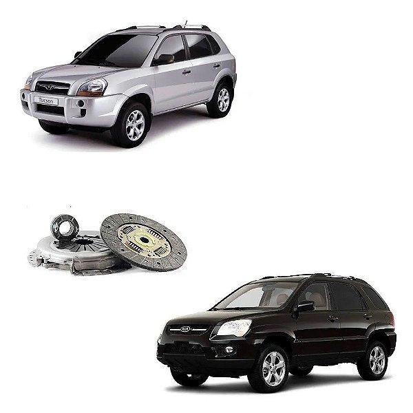 Kit Embreagem Hyundai Tucson Kia Sportage 2.0 16v /...10