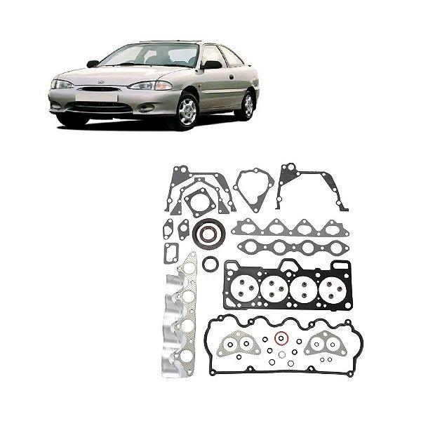 Jogo Junta Motor Hyundai Accent 1.5 12v 95 96 97 98 99