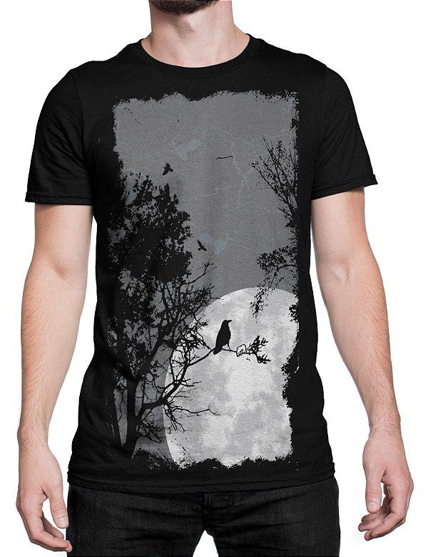 Camiseta Lua - Wolf Blender - Moda Feminina e Masculina 5173ef4db09