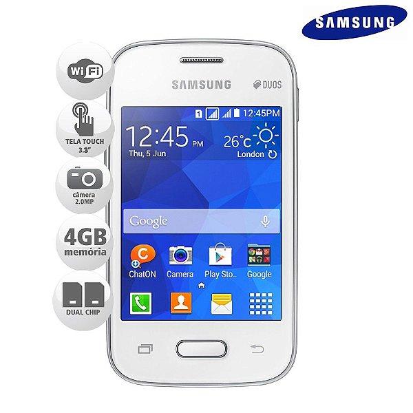 Celular Samsung Galaxy Pocket 2 Dual Chip 4Gb Wi-fi SMG110B *9032*