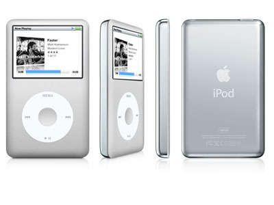 Ipod Apple Classic Cinza  A1238 80GB *7467*