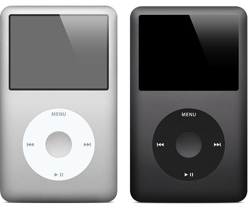 Ipod Classic Apple A1136 30GB Preto *7469*