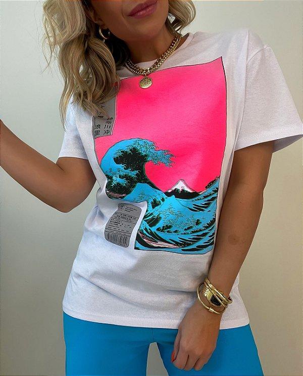 T-shirt Mar Branca