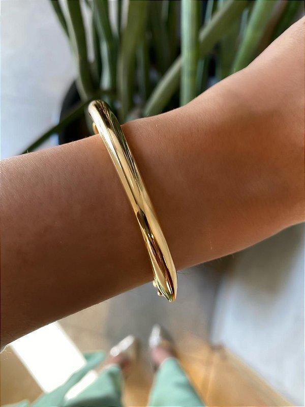 Bracelete Corrente Dourado