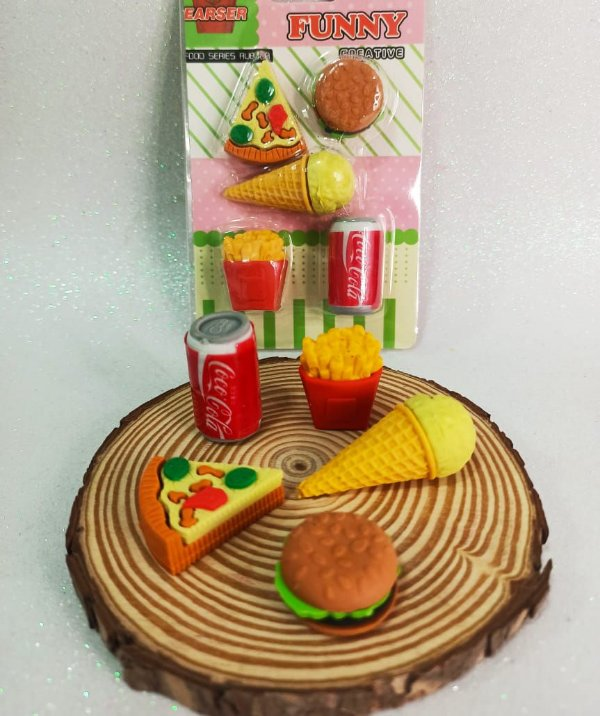 BLISTER BORRACHA FAST FOOD COCA COLA