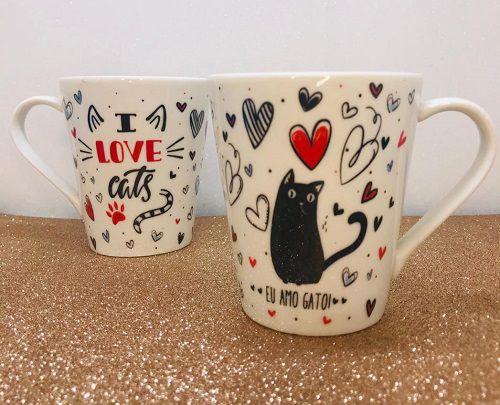 CANETA I LOVE CATS - UNIDADE