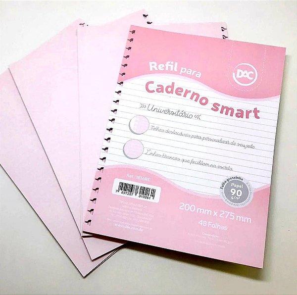 REFIL CADERNO UNIVERSITÁRIO SMART - DAC