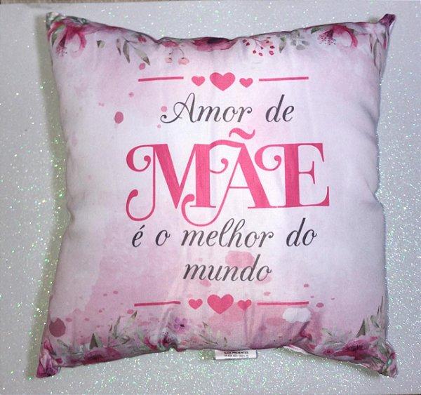 ALMOFADA AMOR DE MÃE - UNIDADE