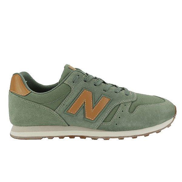 Tênis Casual New Balance 373 Masculino Verde