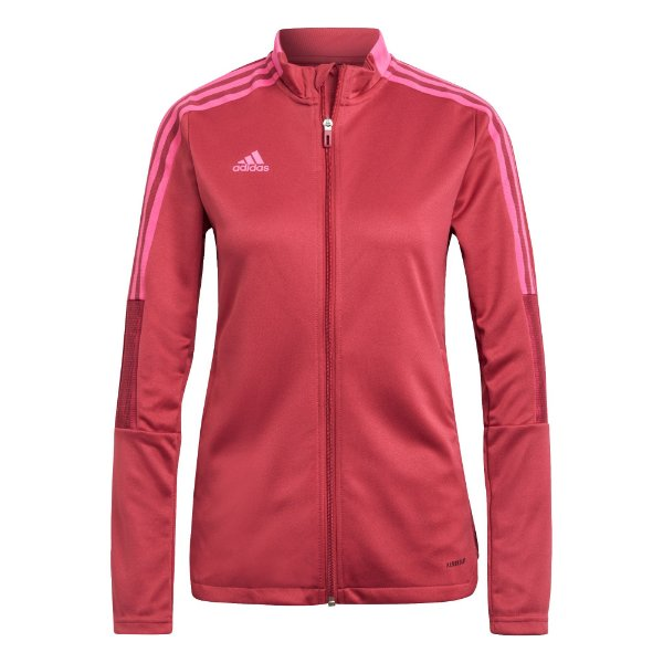 Jaqueta Adidas Tiro 21 Feminina Vermelha