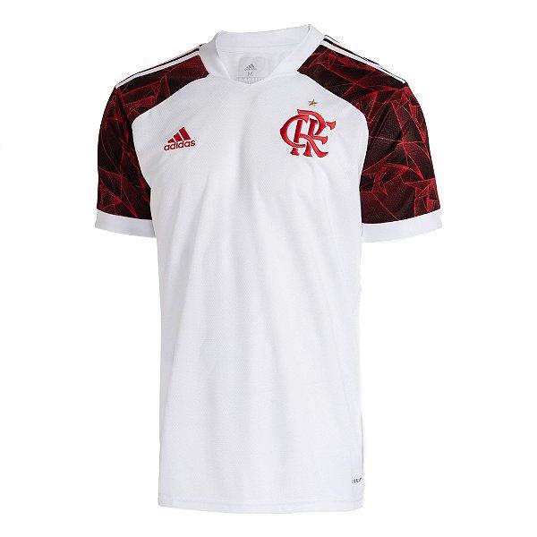 Camisa Oficial CR Flamengo Masculina Branca