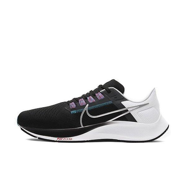 Tênis Nike Air Zoom Pegasus 38 Masculino Preto e Branco