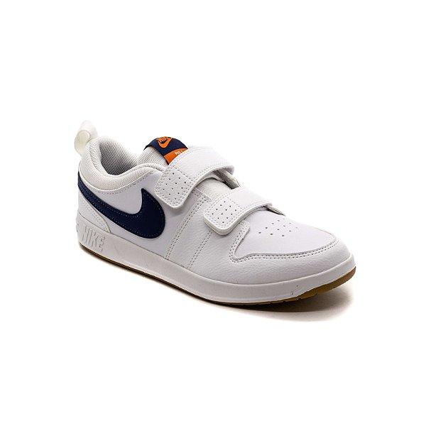 Tênis Esportivo Nike Pico 5 Infantil Unissex Branco