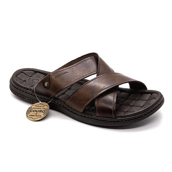 Sandália Pegada Masculina Pinhão
