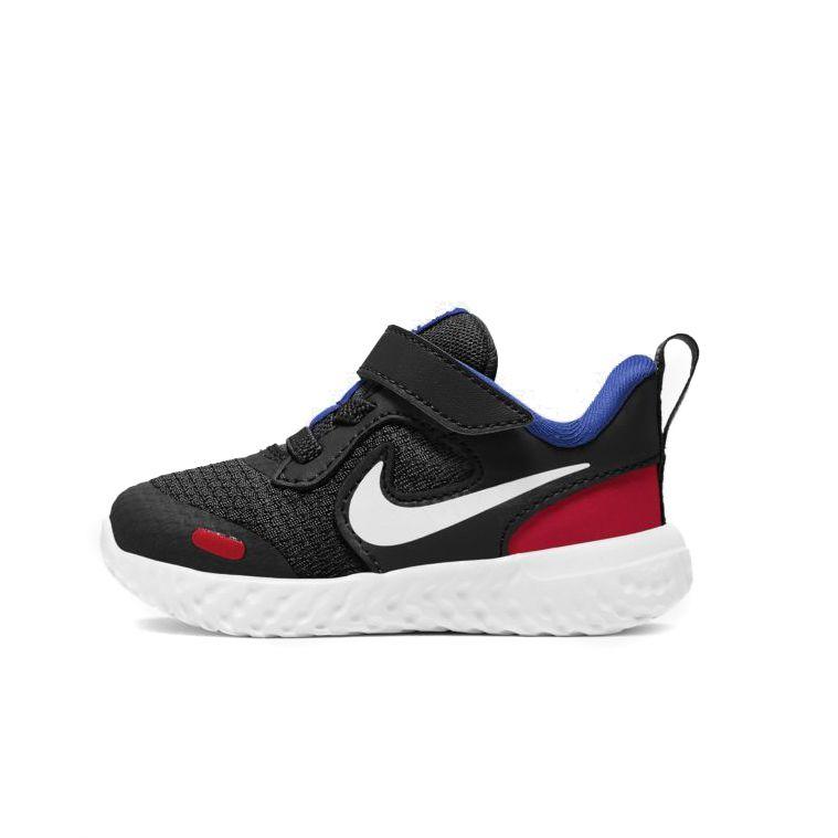 Tênis Nike Revolution 5 TDV Infantil Unissex Preto