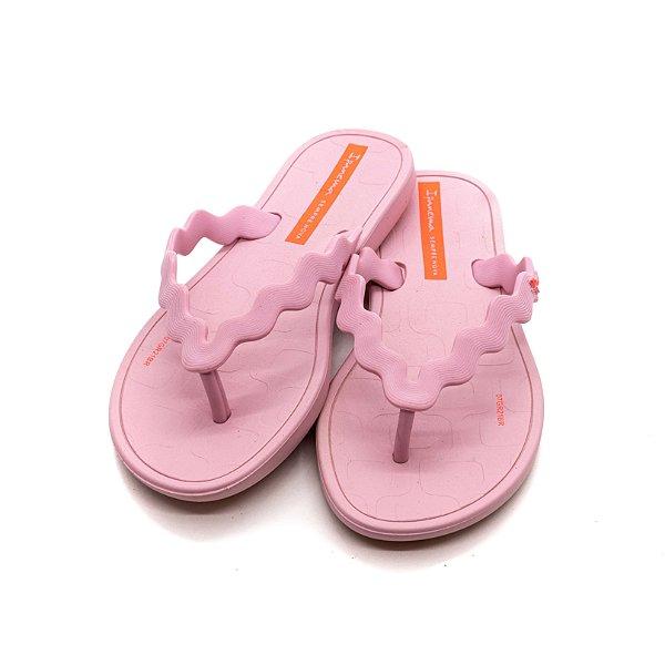 Chinelo Ipanema Infantil Feminino Rosa Claro