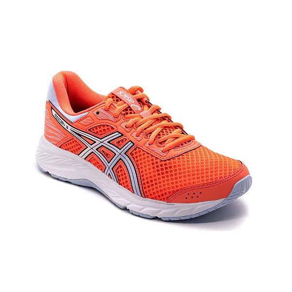 Tênis Esportivo Asics Raiden 3 Feminino Coral