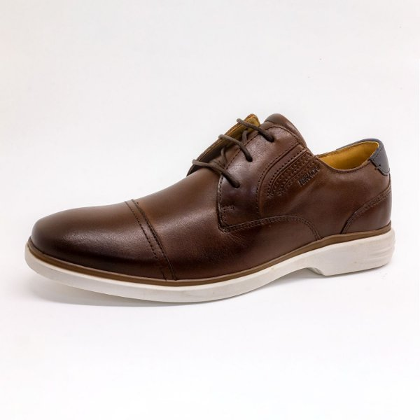 Sapato Ferracini Masculino Conhaque